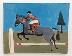Horse, Jumping by Noel McKenna contemporary artwork