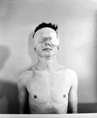 3. Aktion by Rudolf Schwarzkogler contemporary artwork photography