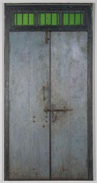 Door V by Abir Karmakar contemporary artwork painting
