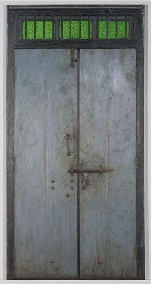 Door V by Abir Karmakar contemporary artwork