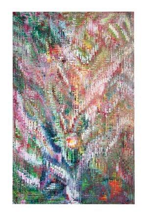 Green Full Bloom by Sassan Behnam-Bakhtiar contemporary artwork