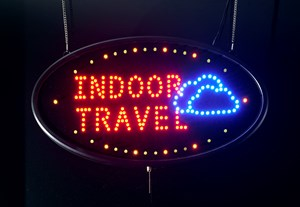 Indoor Travel by James Clar contemporary artwork
