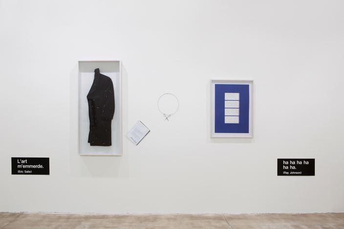 Exhibition view: Group Exhibition,Fluxus ABC, Galerie Krinzinger, Vienna (18 December 2019–14 February 2020). CourtesyGalerie Krinzinger.