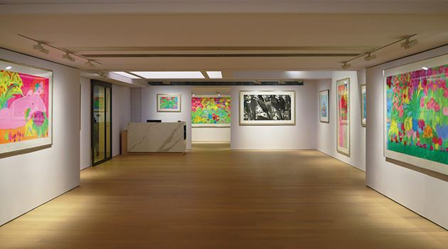 Alisan Fine Arts contemporary art gallery in Central, Hong Kong