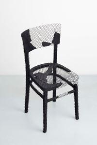 Remains (chair) V by Mona Hatoum contemporary artwork sculpture