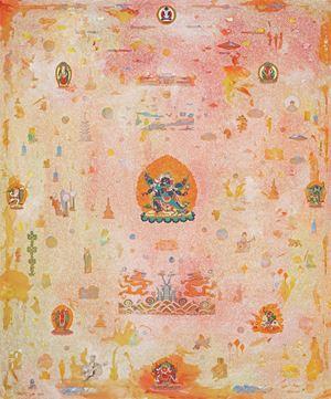 Vajrakilaya by Tim Johnson with Daniel Bogunovic contemporary artwork