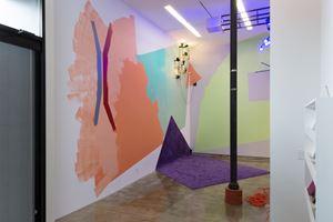 A Log or a Freezer by Jessica Stockholder contemporary artwork