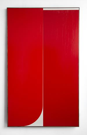 Red #1 by Johnny Abrahams contemporary artwork