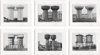 Water Towers (Wassertürme) 1963–1972 by Bernd & Hilla Becher contemporary artwork photography