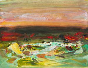 2008.10.9 by Chu Teh-Chun contemporary artwork