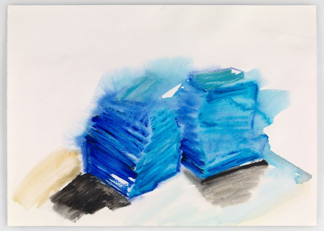 Zurich drawings 12 by Phyllida Barlow contemporary artwork