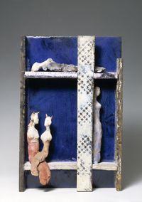 Teatrino / Little theatre by Fausto Melotti contemporary artwork sculpture
