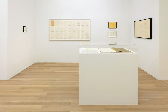 """Exhibition view: Andy Warhol,From """"THE HOUSE THAT went to TOWN"""", Galerie Buchholz, New York (11 July–30 August 2019).Courtesy Galerie Buchholz."""