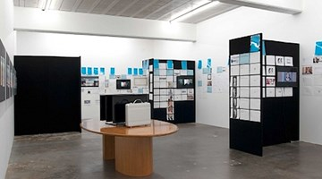 Contemporary art exhibition, Simon Denny, Corporate Video Decisions at Michael Lett, Auckland, New Zealand