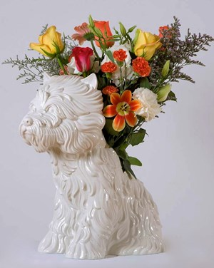 Puppy (Vase) by Jeff Koons contemporary artwork