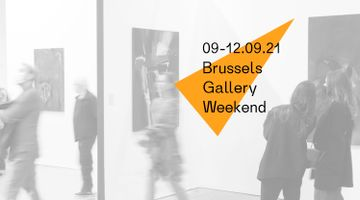 Contemporary art art fair, Brussels Gallery Weekend at rodolphe janssen, Brussels, Belgium