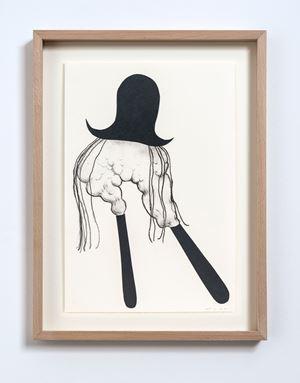 Dark Collage (No.15) by Judith Egger contemporary artwork