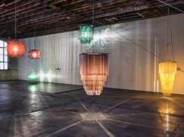 Jorge Pardo on the 'rustic' digital technique behind his laser-cut chandeliers