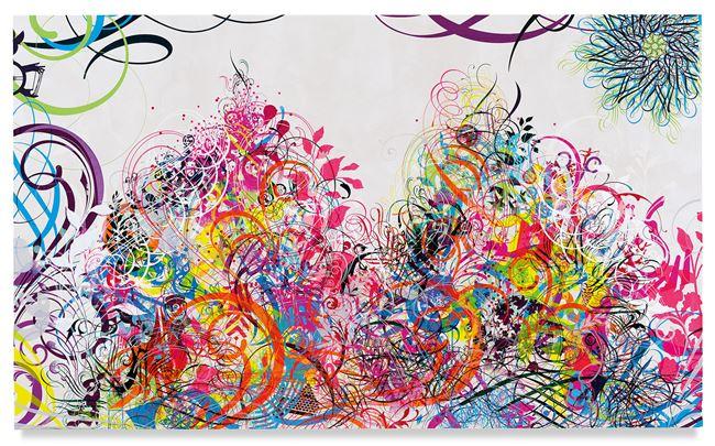 Mindscape 67 by Ryan McGinness contemporary artwork