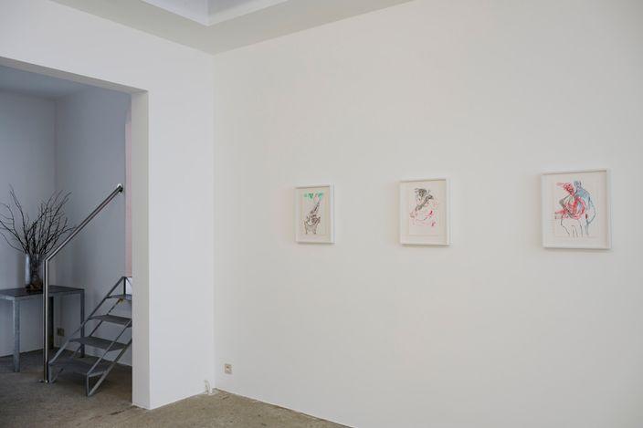 Exhibition view: Group Exhibition,Art Brussels Week, Zeno X Gallery Antwerp South, Antwerp (3 June–26 June 2021). Courtesy Zeno X Gallery. Photo: Peter Cox.