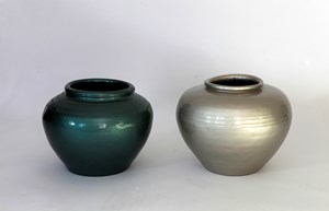 Han Dynasty Vases with Auto Paint by Ai Weiwei contemporary artwork