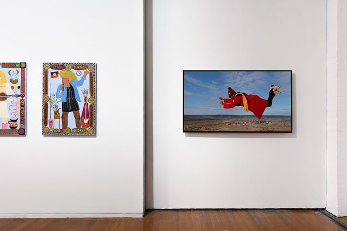 Exhibition view, Kaylene Whiskey,Wonder Women, Roslyn Oxley9 Gallery (3-26 October 2019). Photo: Luis Power