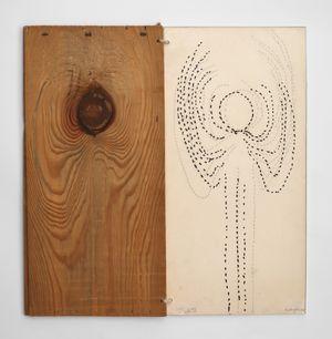 The Annunciation of the Tree by Mirella Bentivoglio contemporary artwork