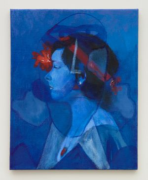 Blue Gaze by Joshua Petker contemporary artwork