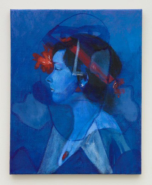 Blue Gaze by Joshua Petker contemporary artwork
