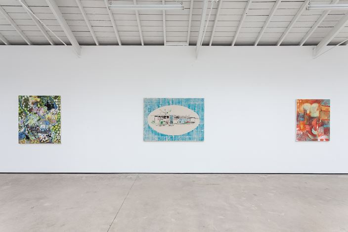 Exhibition view: Pádraig Timoney, Superfare, The Modern Institute, Osborne Street, Glasgow (2 March–4 April 2020). Courtesy the Artist and The Modern Institute/Toby Webster Ltd., Glasgow. Photo: Patrick Jameson.