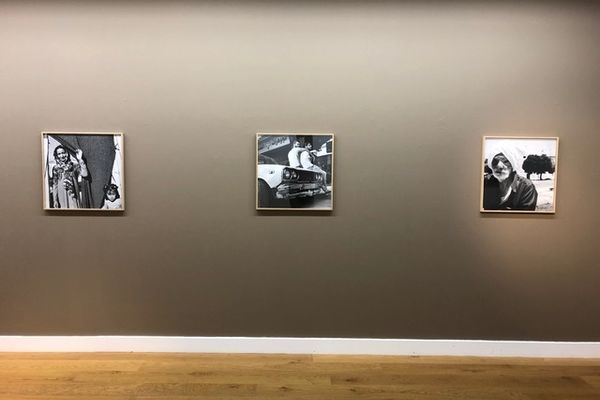 Exhibition view: Katharine Cooper, Katharine Cooper, South African photographer, artist and writer, Flatland Gallery, Amsterdam (10 November–19 January 2019). Courtesy FLATLAND.