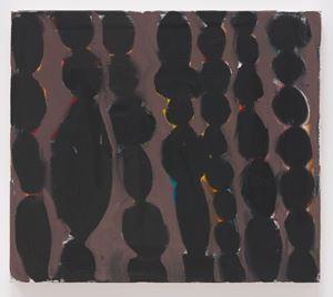 Columns (Maroon) by Tuukka Tammisaari contemporary artwork