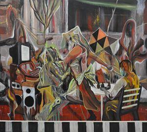 My Way by Rodel Tapaya contemporary artwork