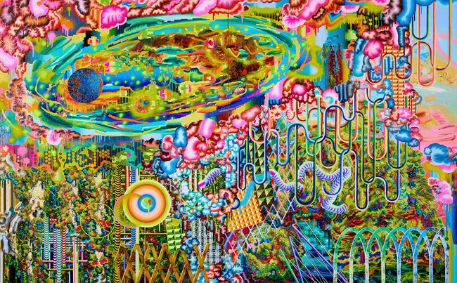 Harmony Hall No2 by Eunjeong Choi contemporary artwork