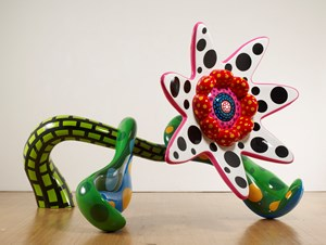 Flowers That Bloom Tomorrow L by Yayoi Kusama contemporary artwork