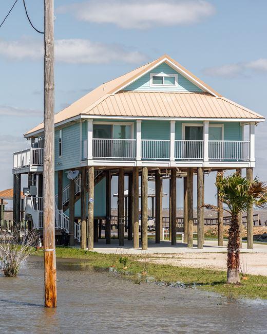 House on Stilts, Louisiana by Anastasia Samoylova contemporary artwork