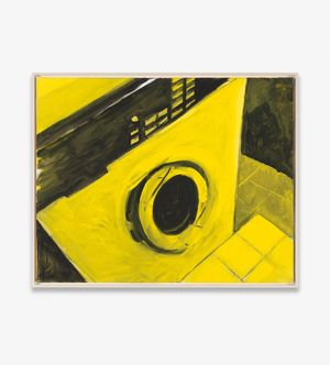 o.T. (Waschmaschine) by Karl Horst Hödicke contemporary artwork