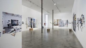 Contemporary art exhibition, Sarah Sze, Afterimage at Victoria Miro, Wharf Road, London