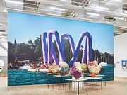 Sarah Lucas disrupts Franz West's Tate Modern survey in off-kilter meeting of art provocateurs