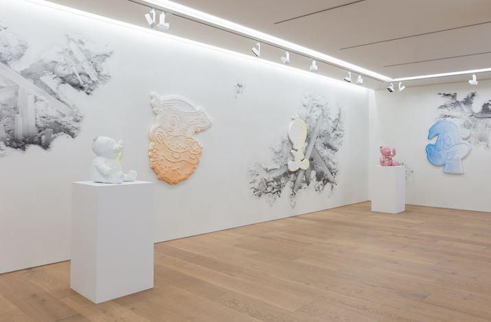 Exhibition view: Daniel Arsham, Perrotin, Tokyo (23 May–30 June 2018). Courtesy the artist and Perrotin. Photo:Kei Okano.