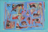 Untitled by Ad Reinhardt contemporary artwork painting, works on paper, drawing