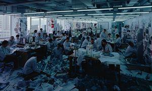 Work! Work! Work! by Wang Qingsong contemporary artwork