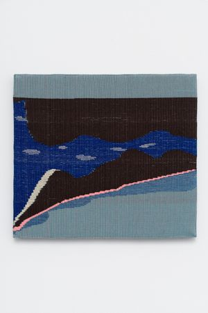 The River Wanders by Miranda Fengyuan Zhang contemporary artwork textile