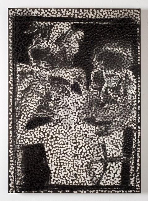 Untitled (KKB) by Daniel Boyd contemporary artwork