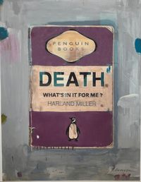 Death, What's In It For Me by Harland Miller contemporary artwork print