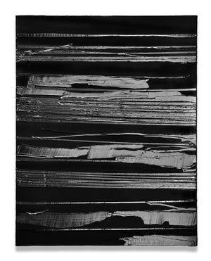 Peinture 130 x 102 cm, 22 juillet 2020 by Pierre Soulages contemporary artwork painting