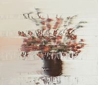 Flower Composition VI by Andy Denzler contemporary artwork painting
