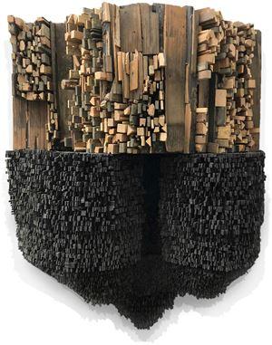Number 249 by Leonardo Drew contemporary artwork
