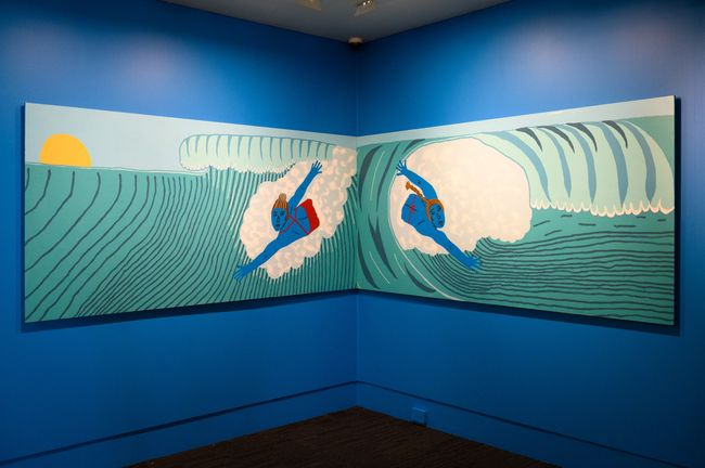 Bodysurfing by Claudia Kogachi contemporary artwork