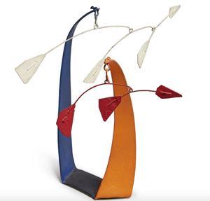 Red Flags, White Flags by Alexander Calder contemporary artwork